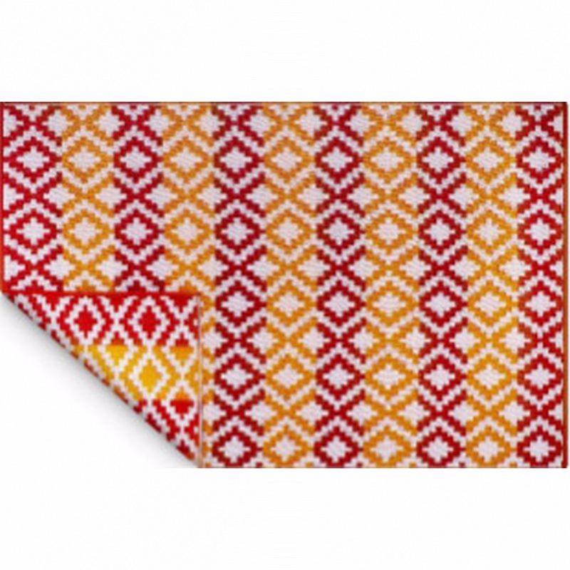 tapis exterieur 270x180cm coloris rouge proloisirs