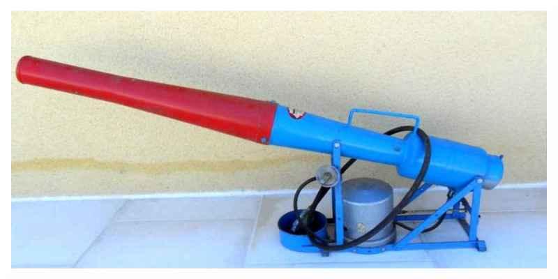 canon à gaz