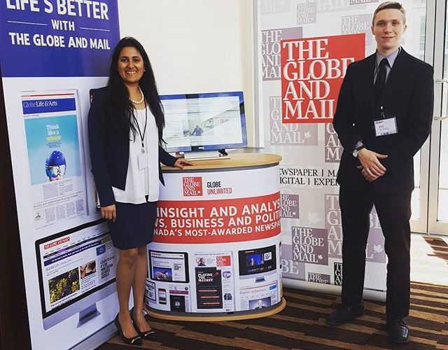 Case Studies: Globe and Mail Trade Show Sales