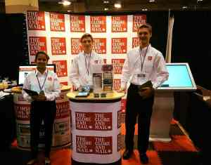 Globe & Mail - Accelerated Sales Campaign - National Women Show- Metro Toronto Convention Centre