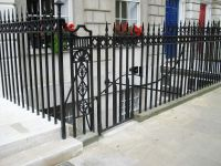 Cast Iron Railings - Fitzroy Square - Arc Fabrications