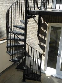 Spiral Staircases Archives - Arc Fabrications