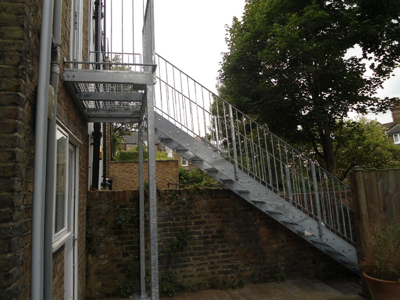 Steel Staircase Balcony London Arc Fabrications   Metal Staircases And Balconies