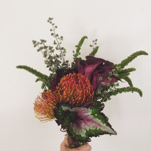 floral arrangement, bouquet, design, arcflora, los angeles, proteas