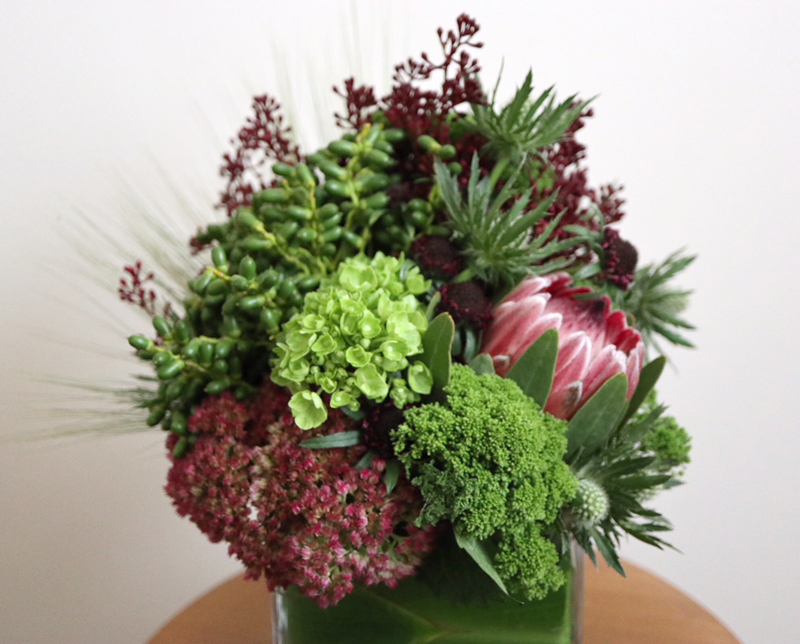 alternative fall flower arrangement, arcflora, los angeles, floral design