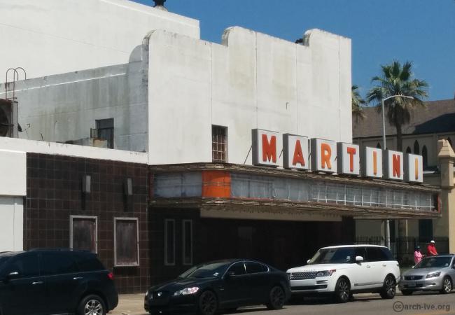 Martini Theater  Galveston  The Archive