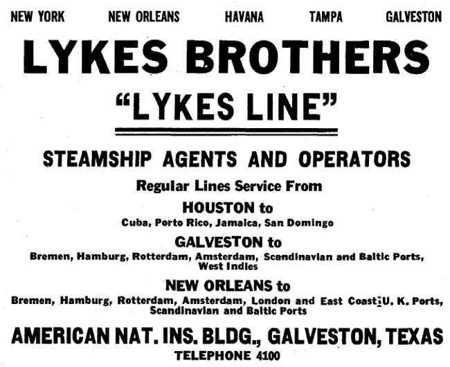 Lykes Bros. Steamship Co. Building