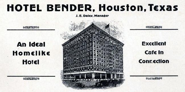Bender Hotel/San Jacinto Building