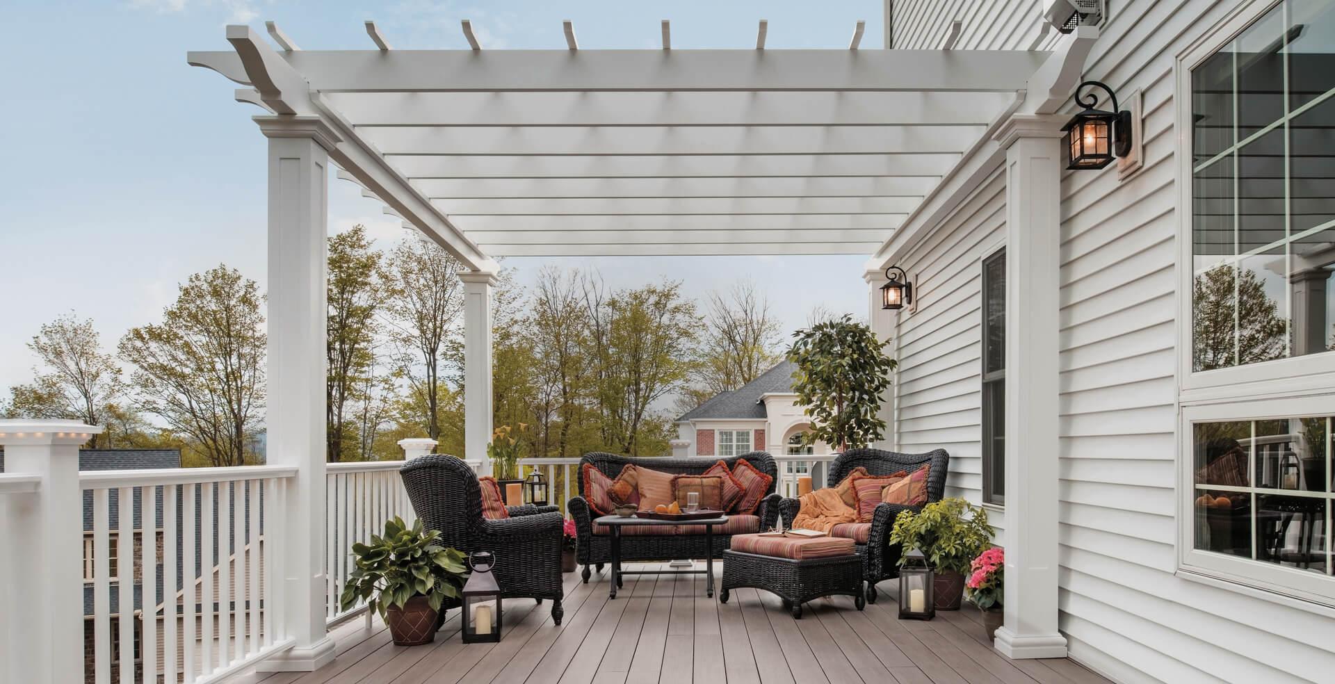 akron deck installation patio design