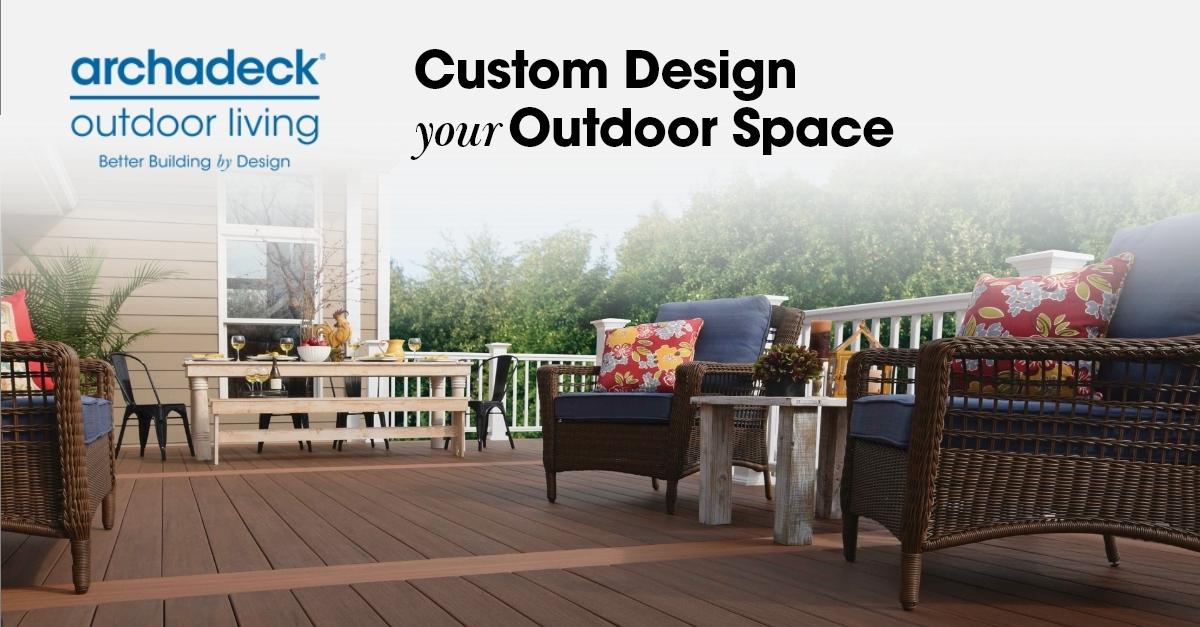 patio design deck installation