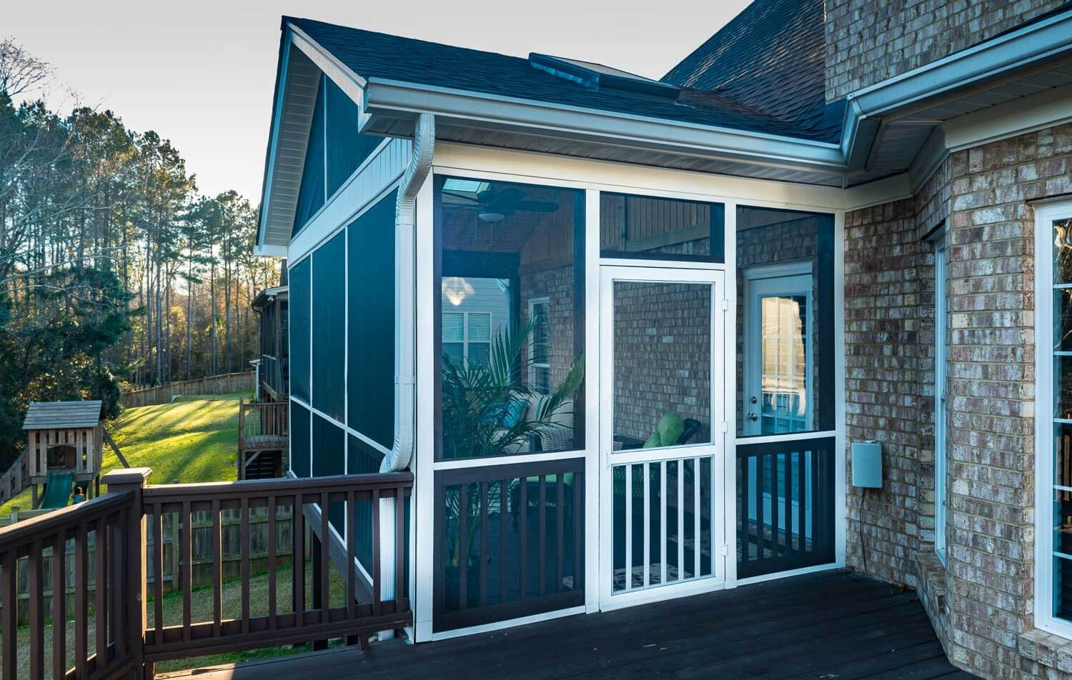 your screened porch exterior what s on