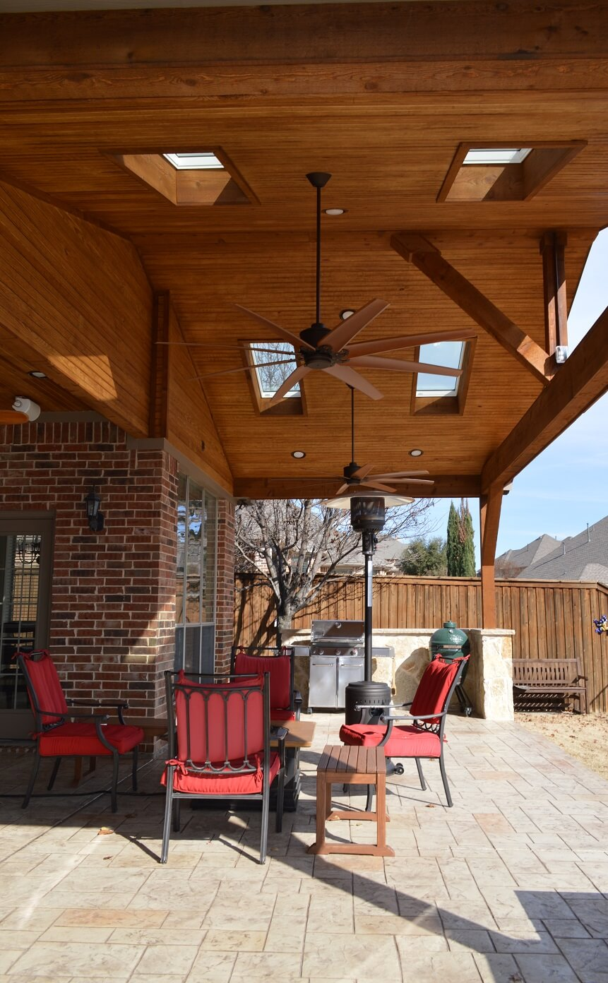 porches and covered patios