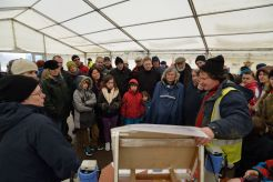Weather-proofed guided tours
