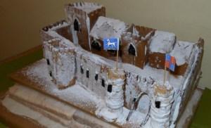 Sheffield castle cake