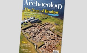 Current Archaeology 335 - now on sale