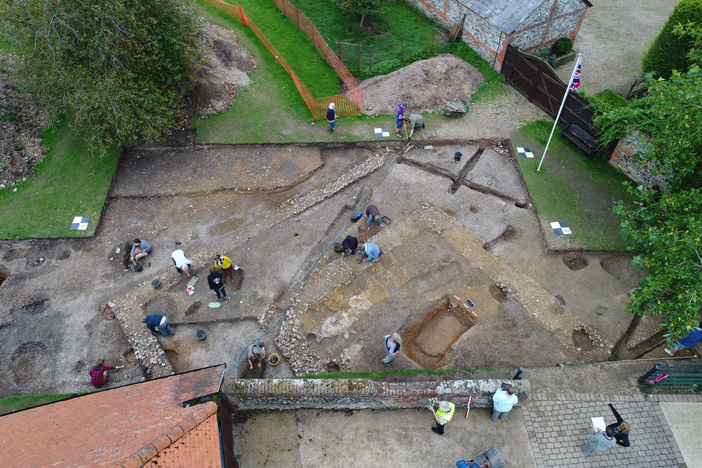 New evidence for Nero's links to Roman Silchester