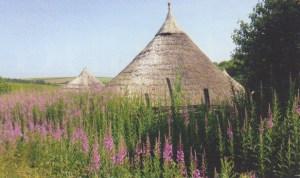 Butser Iron Age round houses