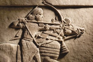 Relief-of-Ashurbanipal-hunting-on-horseback-new