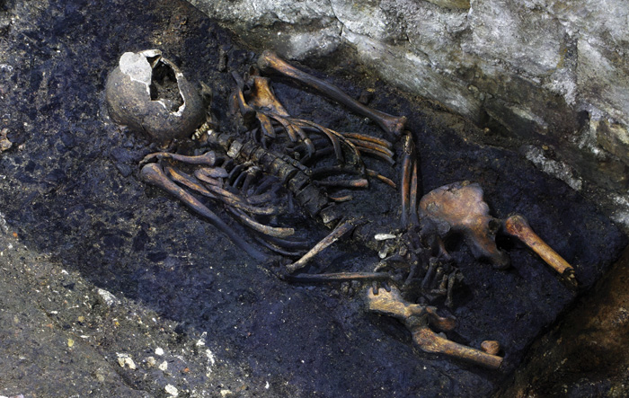 An Anglo-Saxon 'charcoal burial'