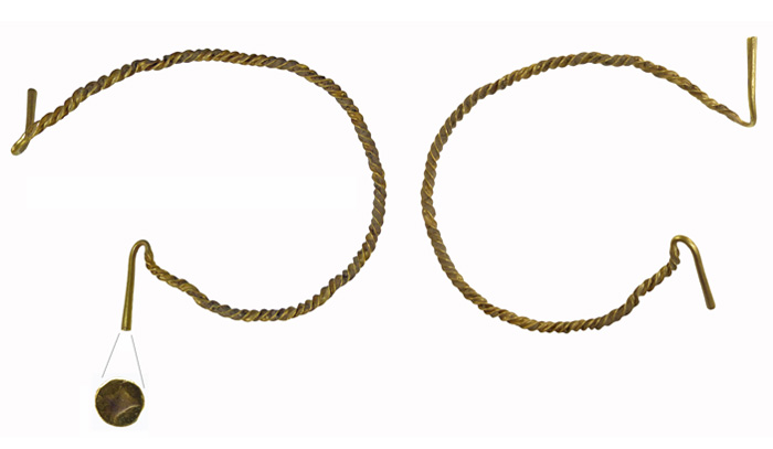 The Great Dunham torc. Dating to c.1300-1100 BC, the great Dunham Hoard was recently acquired by Norfolk Museums Service.