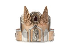 A newly made replica of the Roman crown shows how it may have originally looked