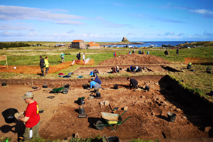 Summer of finds on Lindisfarne