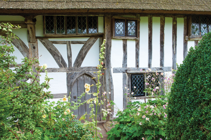 The outside of Alfriston Clergy House
