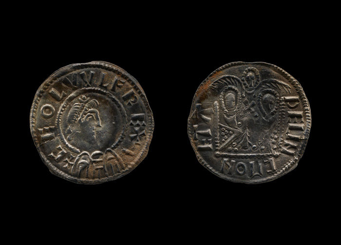 Double emperor coin - shown on both sides