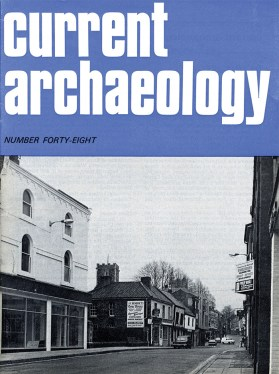 The cover of issue 48 with a picture of St Benedict's Street