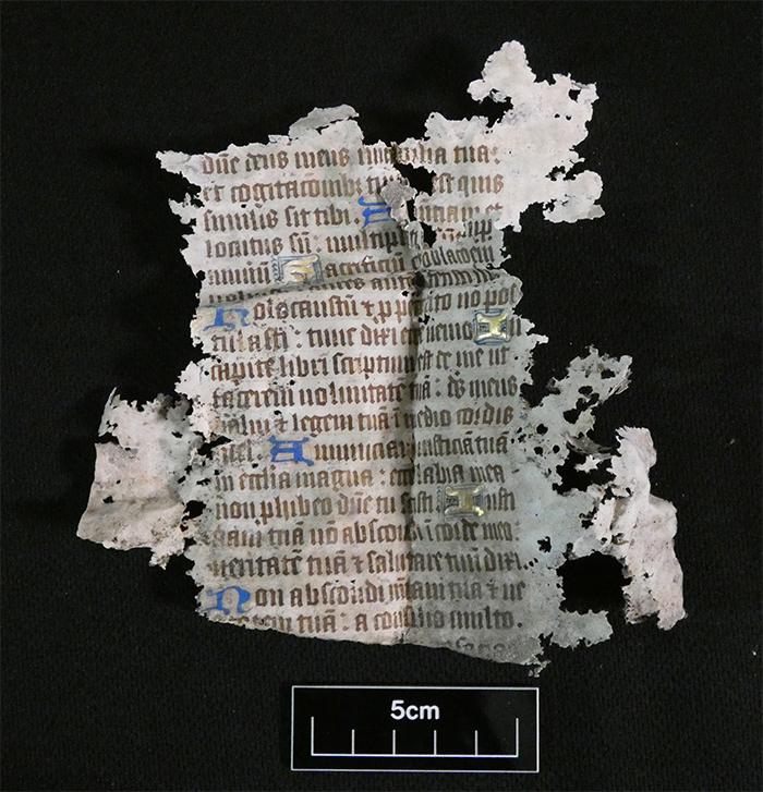 A 15th century illuminated manuscript
