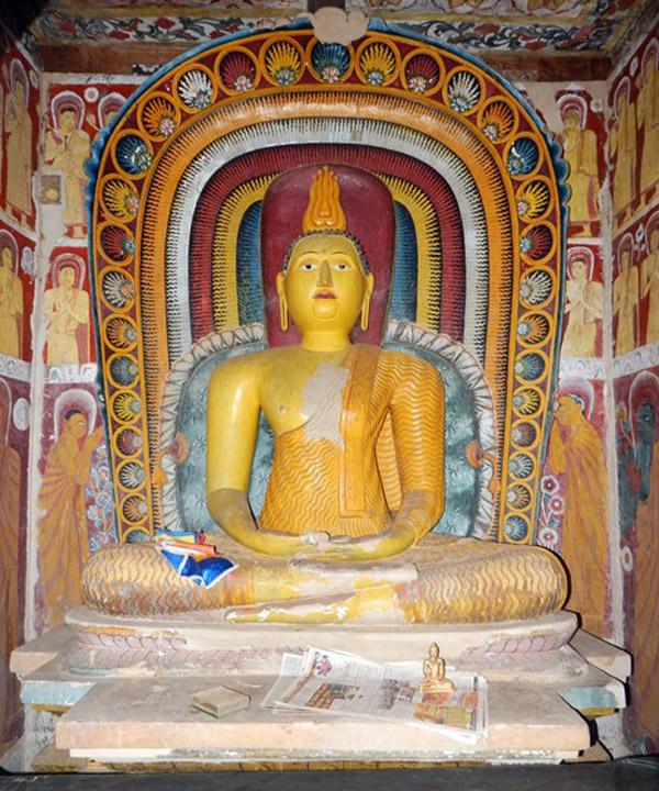 Buddha Statue-Panamura-Valalgoda Purana Tempita Viharaya-Nuwan Jayasekara-Sri Lanka