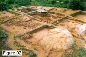 Figure 02 – Godawaya Image house excavation 1998