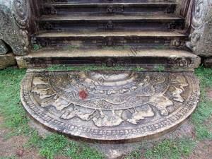 Moonstone - Sadakada Pahana - Anuradhapura- Near Thuparamaya - 05