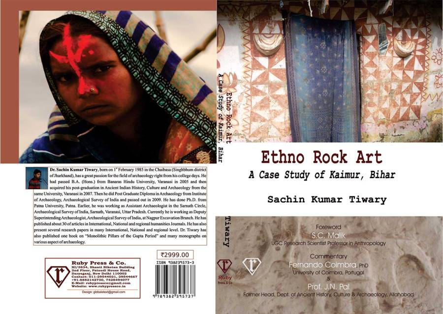 Cover Page: Ethno Rock Art A case study Kaimur Bihar Sachin Kumar Tiwary