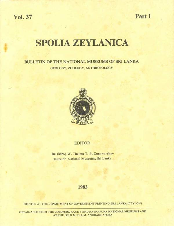 Cover_Spolia_Zeylanica_Vol_37