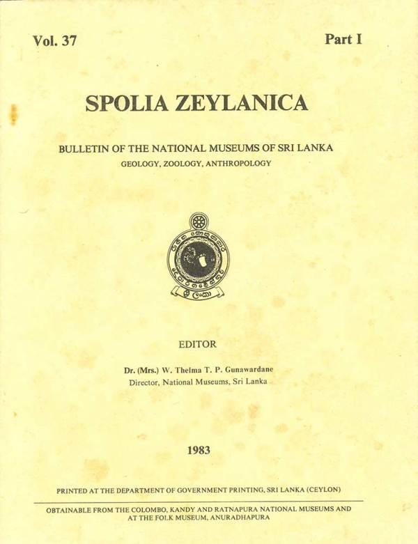 Cover_Spolia_Zeylanica_Vol_37