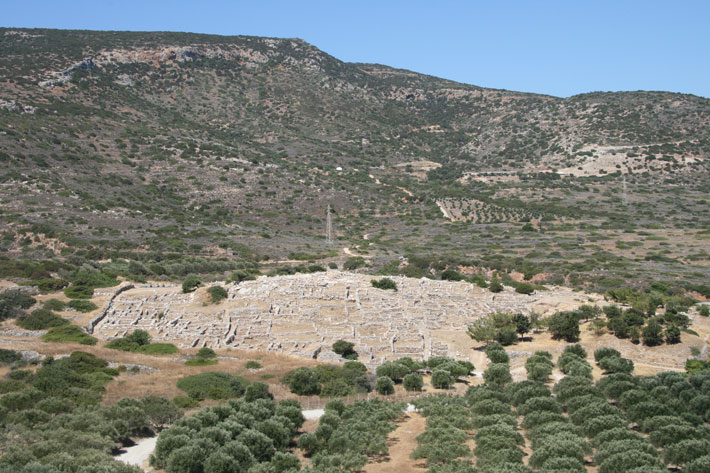Minoans Crete Gournia City