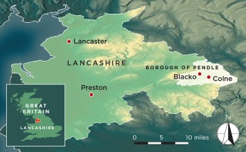 Pendle Map