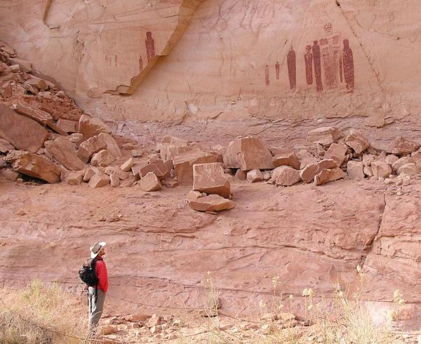 Horseshoe Canyon Utah Ancient Rock Art