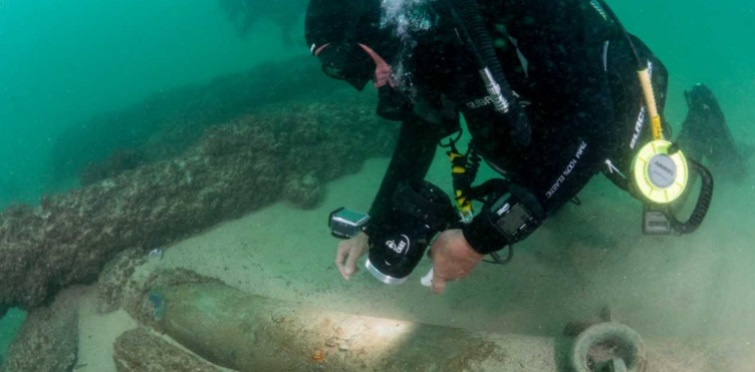 Portugal Shipwreck Cannon