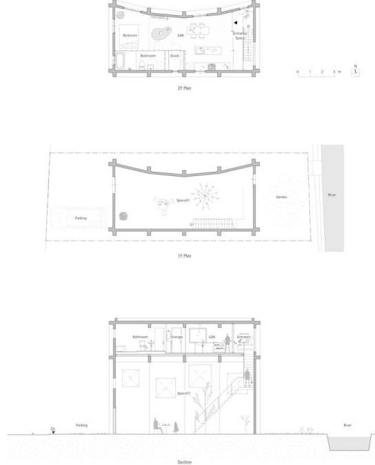archaic_House in Yagi_SUPPOSE DESIGN OFFICE10