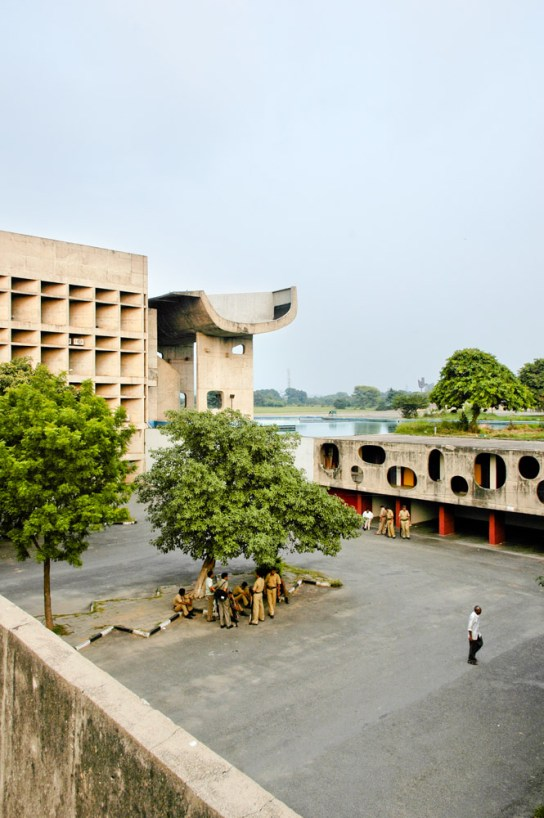 archaic_Chandigarh Assembly | Le Corbusier12