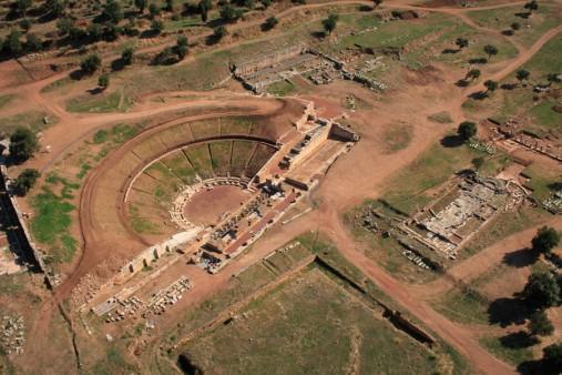 Το αρχαίο θέατρο της Μεσσήνης (φωτ. ΑΠΕ-ΜΠΕ).