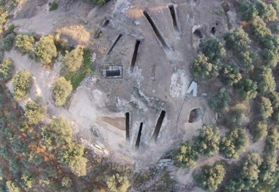 Ανασκαφή στο μυκηναϊκό νεκροταφείο των Αηδονίων