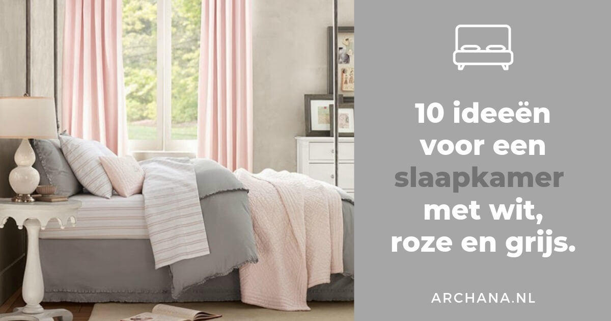 SLAAPKAMERS 10 ideen voor een slaapkamer met wit roze