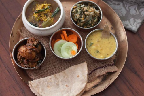 small resolution of everyday meal plate with tharvani charu urali roast and more 2