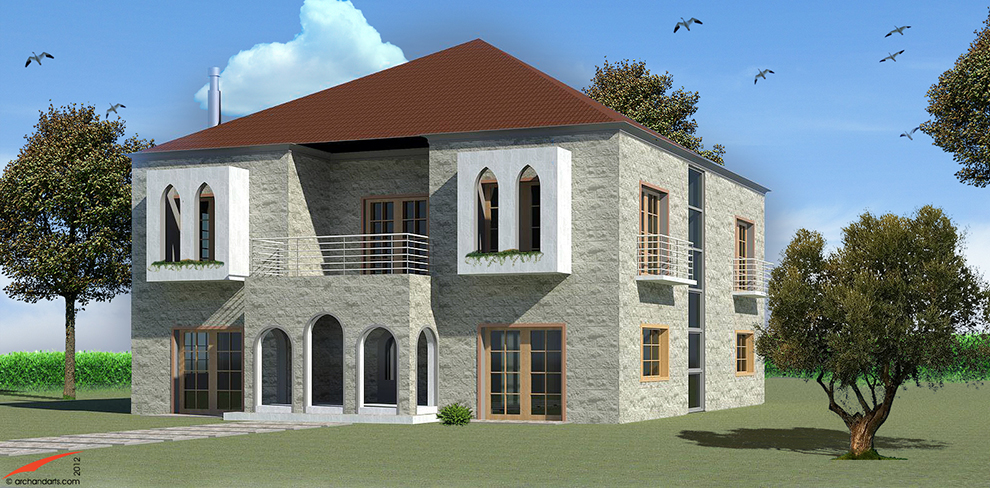 Architecture Villa Design Lebanon Architect Arch & Arts