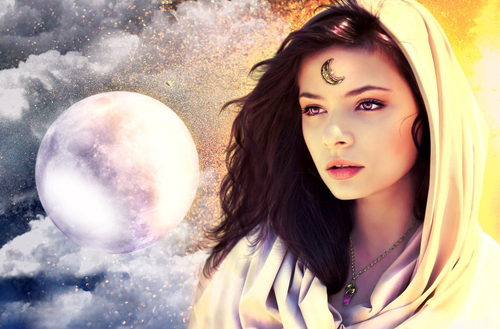 Goddess of the Super Moon Brings a Message to Both Sexes