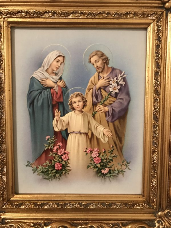 Holy Family; Model Family Life Reflecting