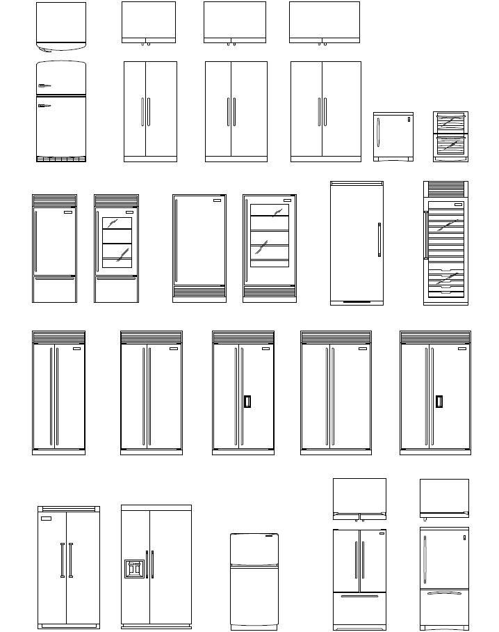 Refrigeration: Refrigeration Autocad Symbols